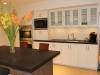 White with dark kitchen remodeling in Los Angeles