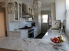 White with Grey Marble counter top in Los Angeles